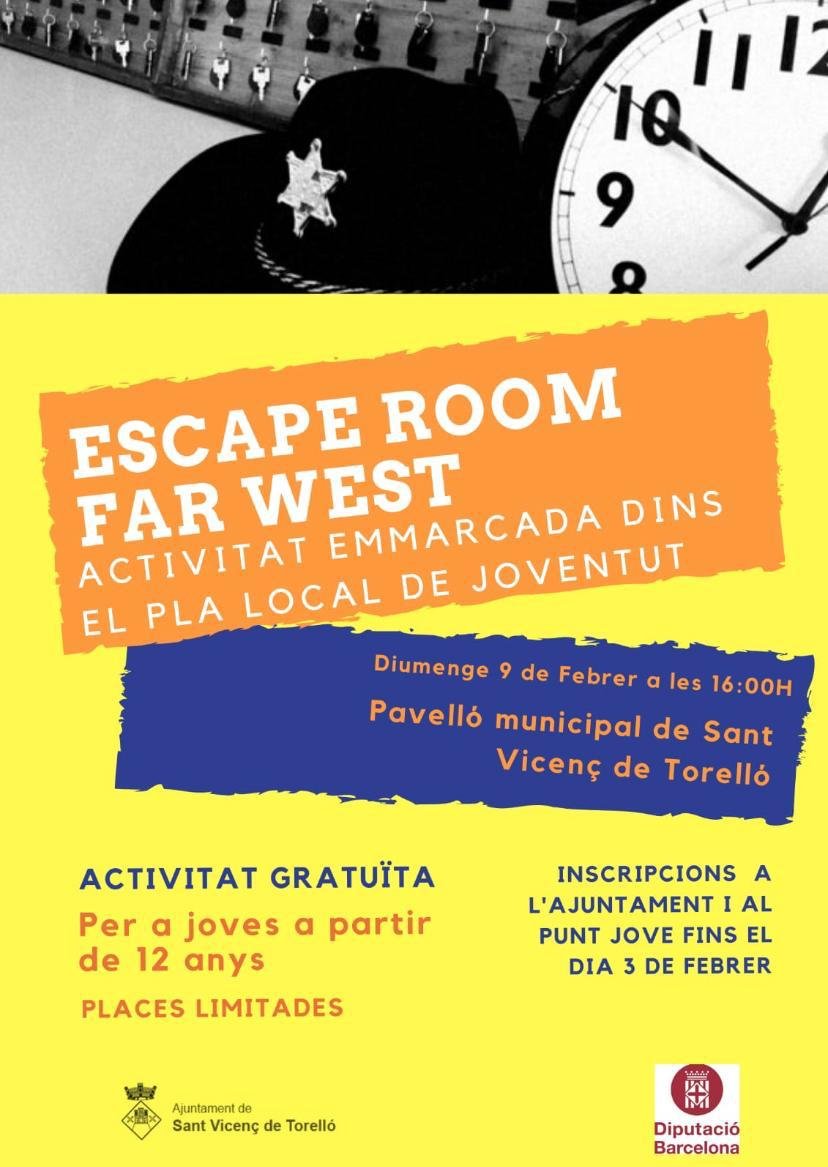 Escape Room Gratuït per a Joves!